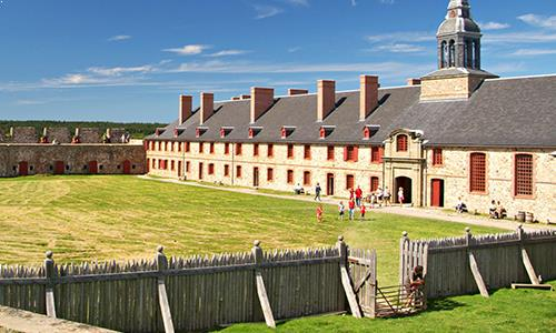 picture of the Fortress of Louisbourg